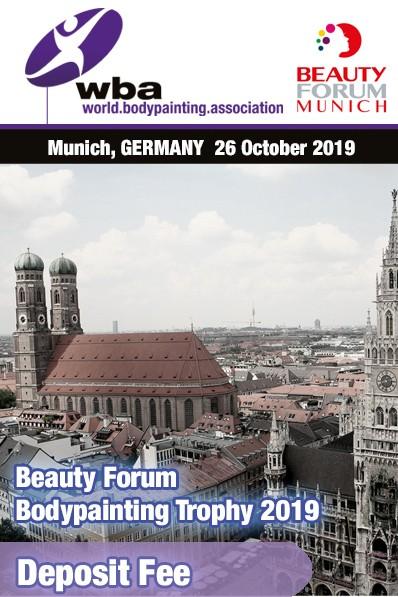 Deutschland: Registrierung Beauty Forum München 2019