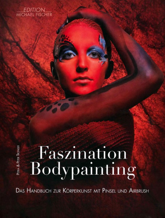 The Manual for Body Art with Brush & Airbrush incl. DVD (German)