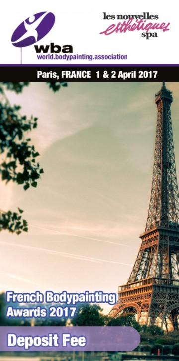 France: Registration WBA Competition Paris