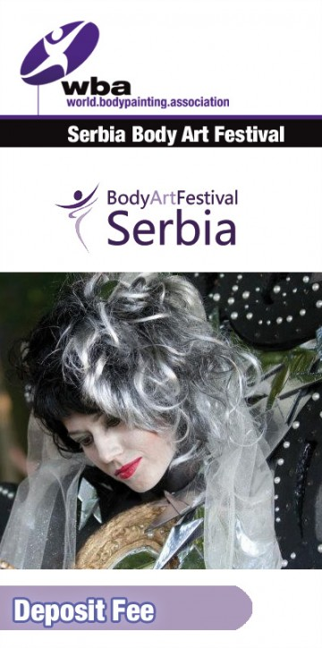 Registration for Artists, Serbia 2018