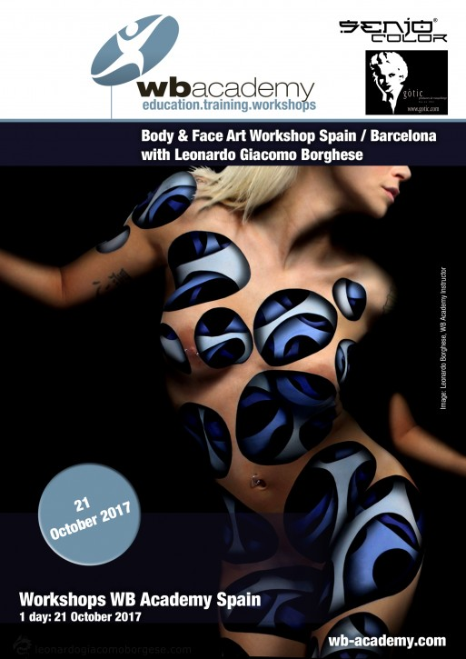 in Spanien für Senjo & Gotic: 1 Tag Face Art & Effects