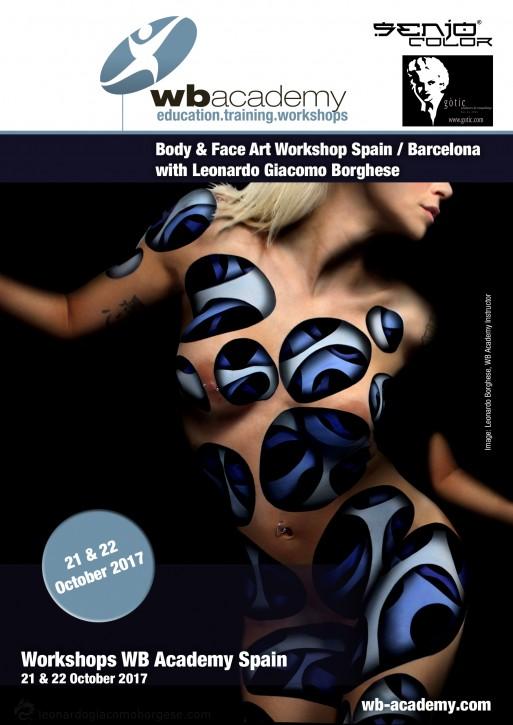 in Spanien für Senjo & Gotic: 2 Tage Face & Body Art