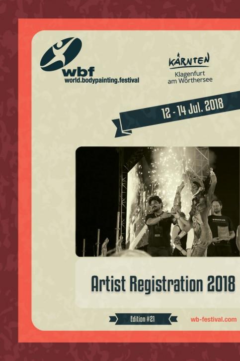 Österreich: Anmeldung für Künstler am WBF 2018