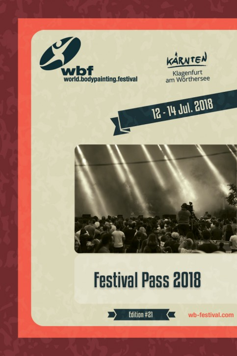 3-Day Festival Pass 12-14 July 2018