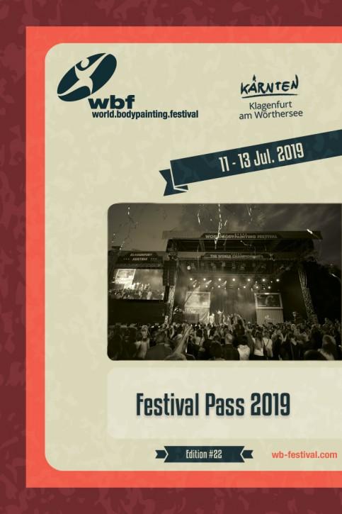 3-Tage Festival Pass 11-13. Juli 2019