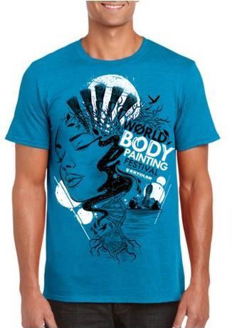 T-Shirt, WBF#19 Türkis, Unisex