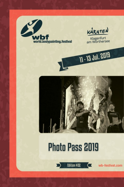 Photo Pass 11 - 13 Jul. 2019