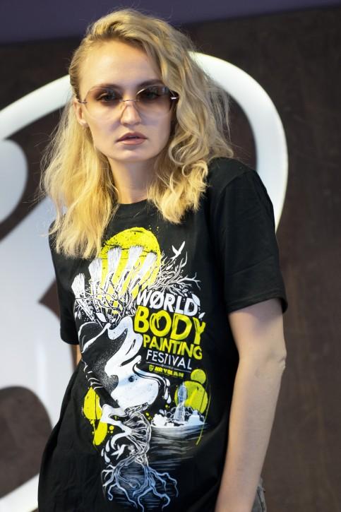 T-Shirt, WBF#19 Schwarz, Unisex Medium