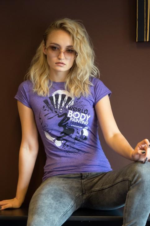Woman T-Shirt, WBF#19 Lila Small