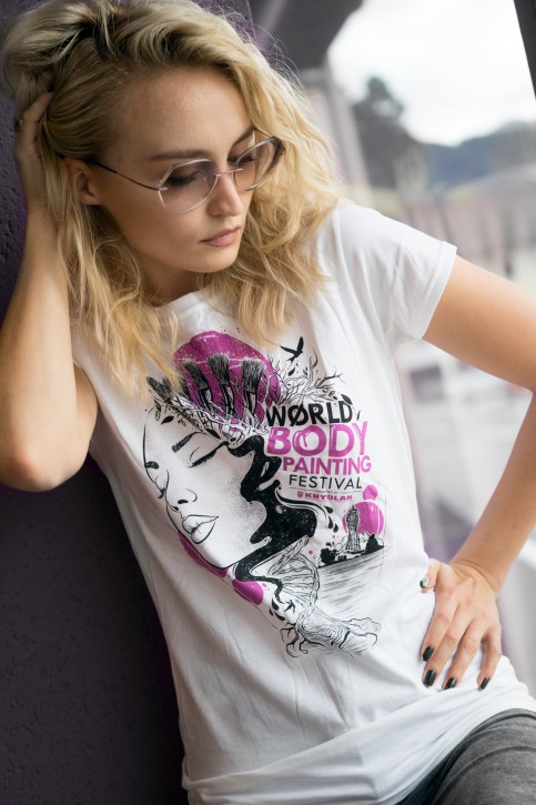 Woman T-Shirt, WBF#19 White