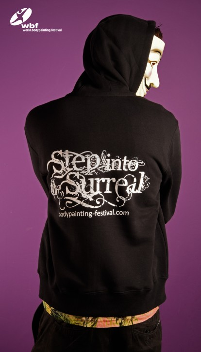 "Hoody ""Step into the surreal"""