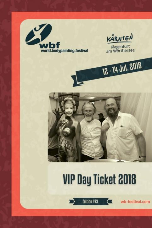 1 Tag: VIP Donnerstag, 12. Juli 2018