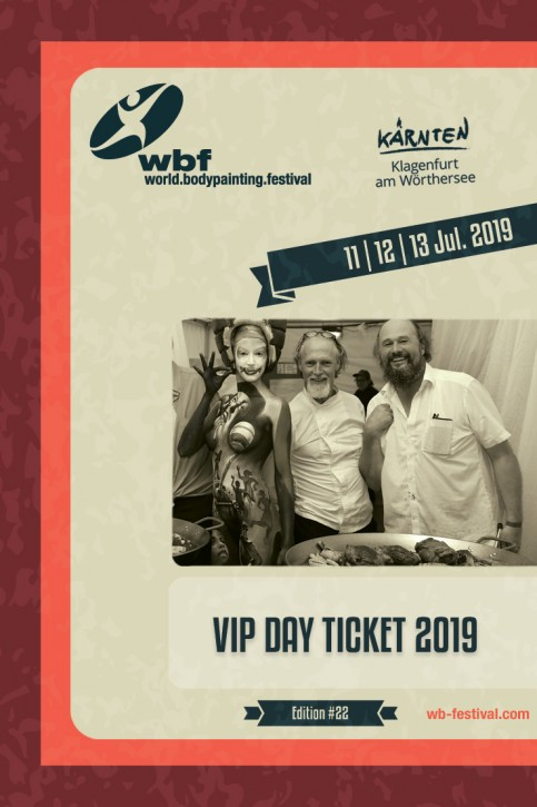 1 Day: VIP Thursday, July 11th 2019