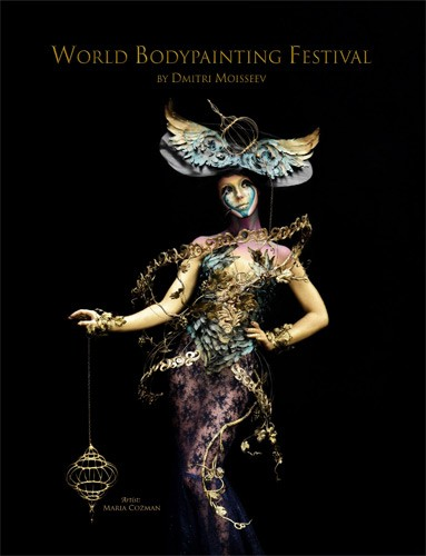 The World Bodypainting Festival, a book by Dmitri Moisseev