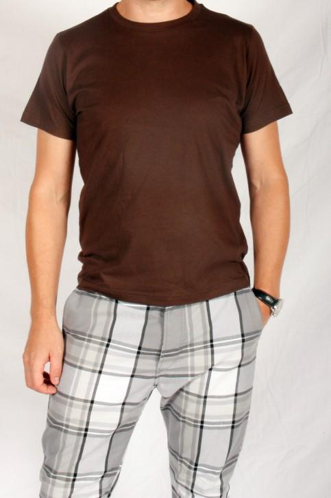 WBF Herren Shirt, Braun, Medium