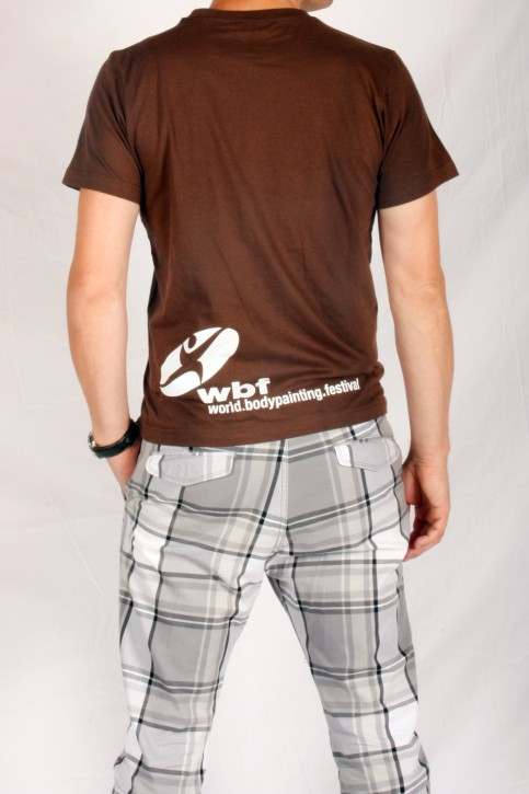 WBF Man Shirt, Brown