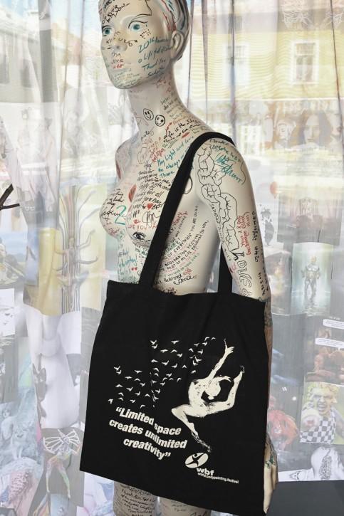 WBF Shopping Tasche aus Baumwolle