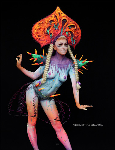 The World Bodypainting Festival A Booky By Dmitri Moisseev