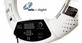 WB PRO Ringlicht Schwarz