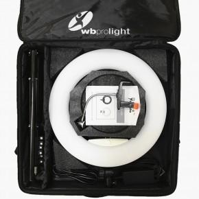WB PRO Ringlicht Weiss