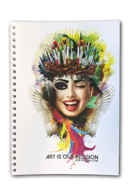 "Notepad ""Art is our Religion"""