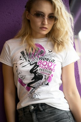 Woman T-Shirt, WBF#19 Weiss Small