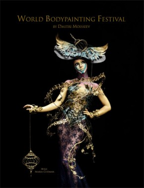 The World Bodypainting Festival, a booky by Dmitri Moisseev