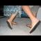 Aufklebbare Schuhe für Modelle