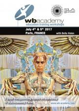 in Frankreich für SLA Academy: 2 Tage Bodypainting Workshop