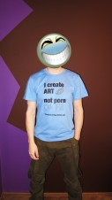 "T-Shirt ""I create Art ..."""