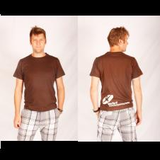 WBF Herren Shirt, Braun