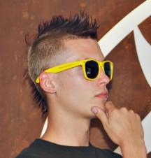 WBF (Aftershow) Sonnenbrille gelb