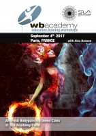 in France for SLA Academy: Airbrush Demo Class with Alex Hansen