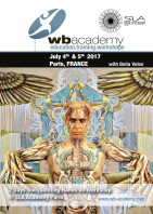in France für SLA Academy: 2 days Bodypainting Hands on Workshop