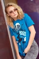T-Shirt, WBF#19 turquoise, Unisex
