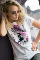 Woman T-Shirt, WBF#19 Weiss